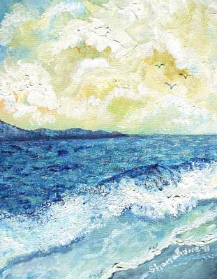 Painting - Coastal Clouds by Shana Rowe Jackson
