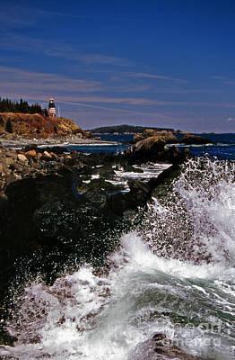 Coastal Maine Art Print by Skip Willits