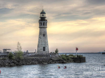 Coastguard Lighthouse Art Print