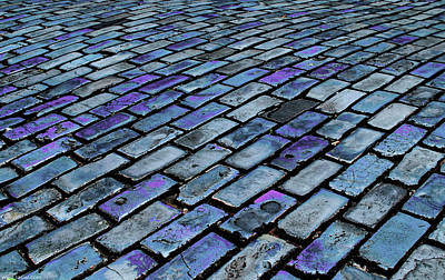 Cobblestones From Ship's Ballast Or Art Print by Miva Stock