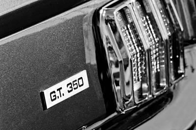 Photograph - Cobra Gt 350 Taillight Emblem by Jill Reger