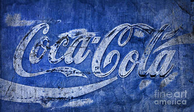 Coca-cola Signs Photograph - Coca Cola Blues by John Stephens