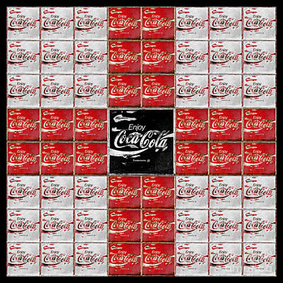Coca-cola Sign Photograph - Coca Cola Red Cross by John Stephens