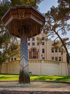 Photograph - Cochise County Courthouse by Beverly Parks