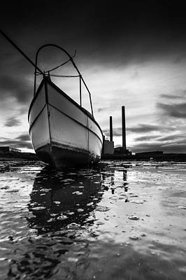Poer Photograph - Cockenzie Power Station by Keith Thorburn LRPS