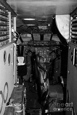 cockpit of the British Airways Concorde Art Print