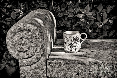 Photograph - Coffee In Garden by Gry Thunes