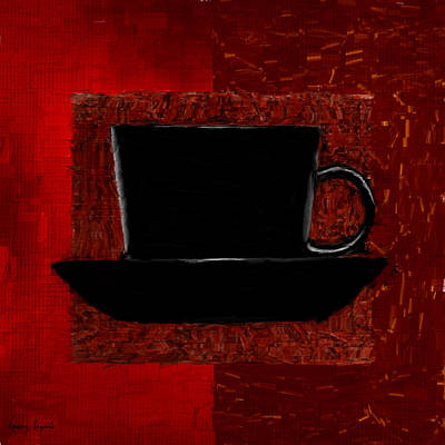 Coffee Passion Print by Lourry Legarde