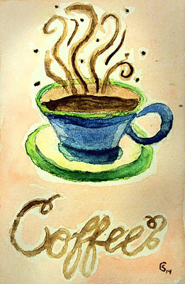 Espresso Drawing - Coffee by Stephanie Crouse