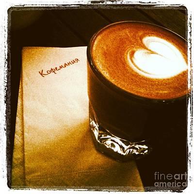 Photograph - Coffeemania by Elena Nosyreva
