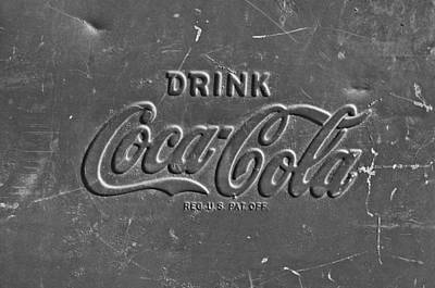 Coke Sign Art Print by Jill Reger