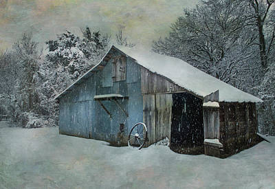 Photograph - Cold Day On The Farm by David and Carol Kelly