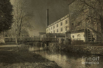 Coldharbour Mill  Print by Rob Hawkins