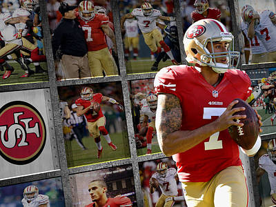 Colin Kaepernick Photograph - Colin Kaepernick San Francisco 49ers by Joe Hamilton