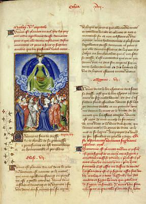 Collected Works Of Christine De Pisan Art Print