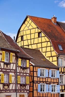 Colmar Wall Art - Photograph - Colmar - Alsace by Brian Jannsen