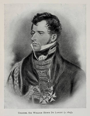 Williams Photograph - Colonel Sir William Howe De Lancey by British Library