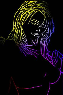 Color Me Up Art Print by Steve K