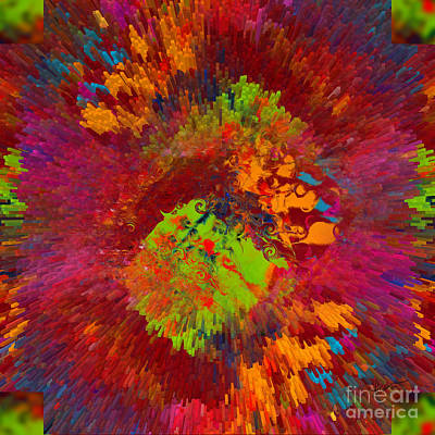 Digital Art - Cubical Color Pallet by Vicki Pelham