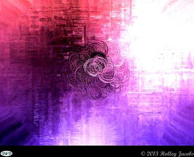 Digital Art - Color Sensation Brighter by Holley Jacobs