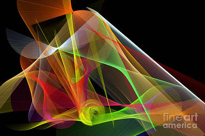 Digital Art - Color Symphony by Rafael Salazar