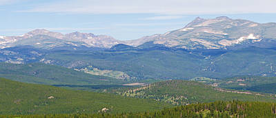 Photograph - Colorado Continental Divide 5 Part Panorama 3 by James BO  Insogna