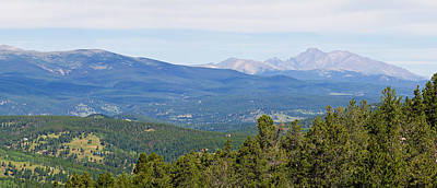 Photograph - Colorado Continental Divide 5 Part Panorama 5 by James BO  Insogna