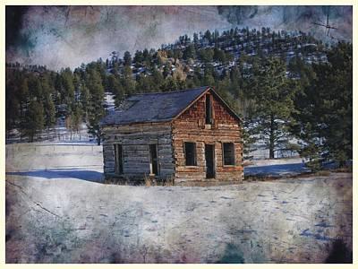 Photograph - Colorado Log Cabin by Joe Duket