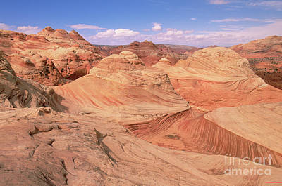 Photograph - Colorado Plateau Sandstone Arizona by Yva Momatiuk John Eastcott