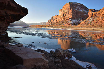 Photograph - Colorado River Reflection by Ray Mathis