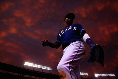 Photograph - Colorado Rockies V Texas Rangers by Tom Pennington