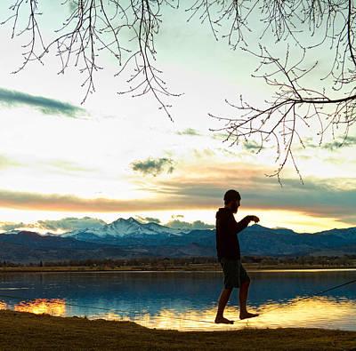 Photograph - Colorado Slacklining by James BO Insogna