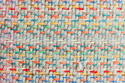 Throw Blanket Photograph - Colorful Blanket by Tom Gowanlock