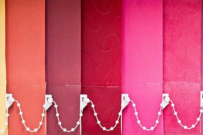 Colorful Blind Art Print by Tom Gowanlock