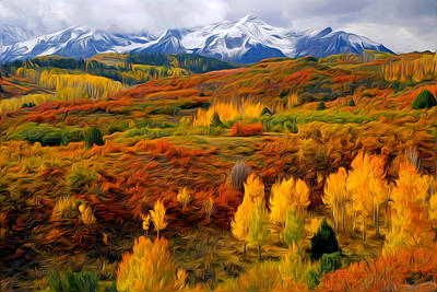 Colorful Colorado At It's Best Art Print