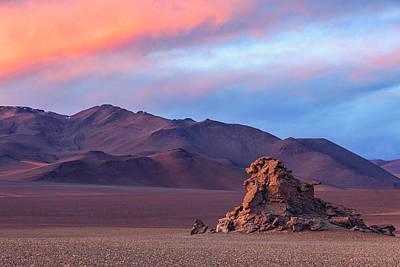 Colorful Desert Original by Anna Gibiskys