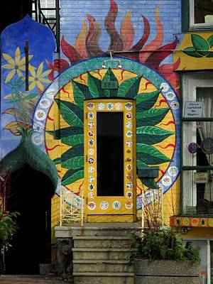 Photograph - Colorful Door by Alfred Ng