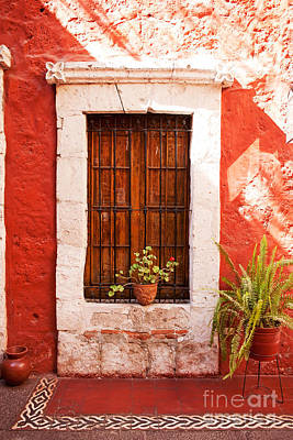 Colorful Old Architecture Details Art Print by Yaromir Mlynski