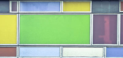 Royalty-Free and Rights-Managed Images - Colorful panels by Tom Gowanlock
