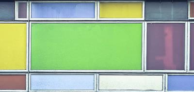 Colorful Panels Art Print