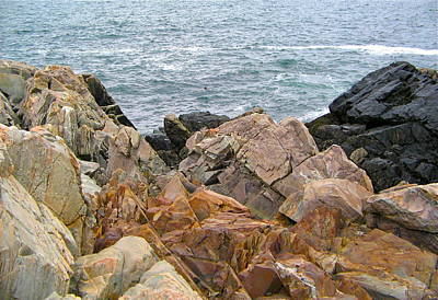 Photograph - Colorful Rocks by Denise Mazzocco