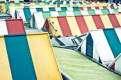 Colorful Roofs Art Print