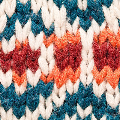 Crochet Photograph - Colorful Wool by Tom Gowanlock