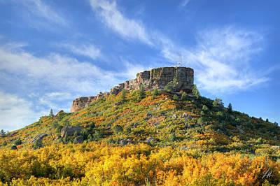 Castle Rock Photograph - Colors Of Castle Rock by Brandon Griffin