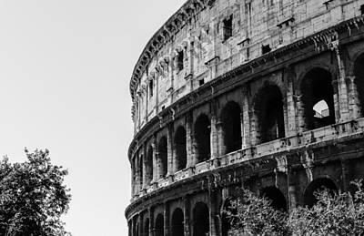 Colosseum - Rome Italy Art Print by Andrea Mazzocchetti
