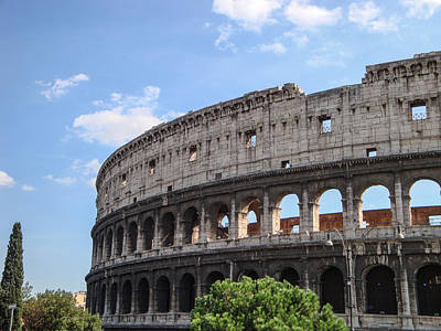 Photograph - Colosseum by John Johnson