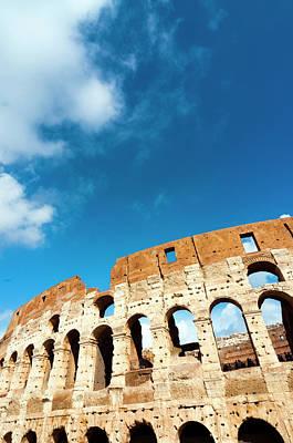Colosseum Or Flavian Amphitheatre Art Print