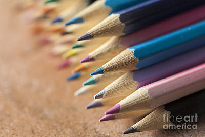 Photograph - Colouring Pencils by Jim Orr