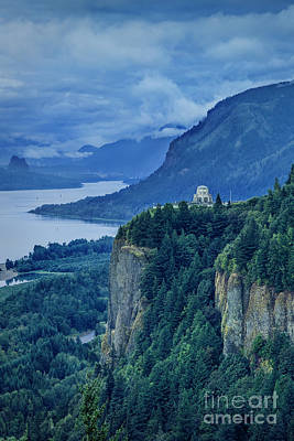 Photograph - Columbia River Gorge by Brian Jannsen