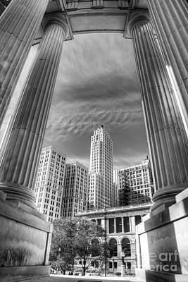 Columns Of War Memorial Art Print by Twenty Two North Photography